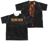 Youth: Falling Skies - Harness (Front/Back Print) T-shirts