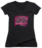 Juniors: Fight Club - Project Mayhem V-Neck T-Shirt