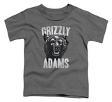 Toddler: Grizzly Adams - Retro Bear T-Shirt
