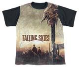 Youth: Falling Skies - Skitter Head (black back) T-shirts
