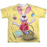 Youth: Here Comes Peter Cottontail - Basket Of Eggs T-shirts