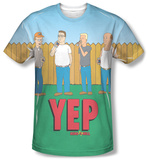 King Of The Hill - Yep Shirts