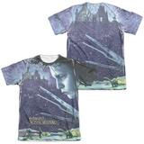 Edward Scissorhands - Home Poster (Front/Back) T-Shirt