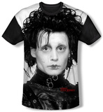 Edward Scissorhands - Heads Up (black back) T-shirts