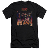 KISS - Destroyer Cover (slim fit) T-Shirt