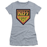 Juniors: KISS - Army Logo Shirt