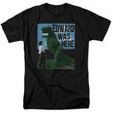 Edward Scissorhands - Edward Was Here T-shirts