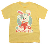 Youth: Here Comes Petter Cottontail - Peter Wave T-shirts