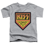 Toddler: KISS - Army Logo T-Shirt
