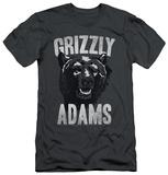 Grizzly Adams - Retro Bear (slim fit) Shirts