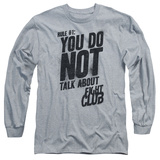 Longsleeve: Fight Club - Rule 1 T-shirts