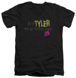Fight Club - In Tyler We Trust V-neck T-shirts