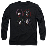 Longsleeve: KISS - Solo Heads T-Shirt
