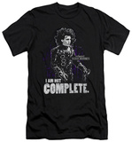 Edward Scissorhands - Not Complete (slim fit) Tシャツ