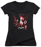 Juniors: Alien vs Predator - We Lose V-Neck Shirts