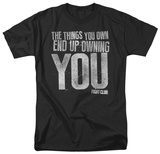 Fight Club - Owning You T-shirts