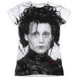 Juniors: Edward Scissorhands - Heads Up Shirts