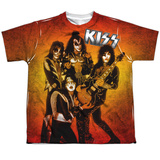 Youth: KISS - Fire Pose T-Shirt