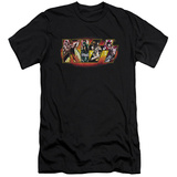 KISS - Stage Logo (slim fit) T-shirts