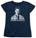 Womans: Doogie Howser - Howser Logo T-Shirt