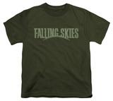 Youth: Falling Skies - Distressed Logo T-shirts