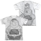 Family Guy - Mug Shot (Front/Back Print) Shirt