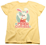 Womens: Here Comes Petter Cottontail - Peter Wave T-Shirt