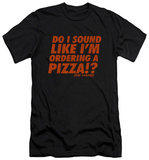 Die Hard - Pizza (slim fit) Shirts