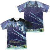 Edward Scissorhands - Home Poster (Front/Back) T-Shirt