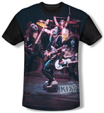 KISS - Live Show (black back) Sublimated