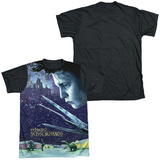 Edward Scissorhands - Home Poster (black back) T-shirts