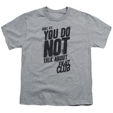 Youth: Fight Club - Rule 1 T-shirts