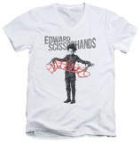 Edward Scissorhands - Show & Tell V-neck T-shirts