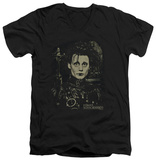 Edward Scissorhands - Edward V-neck T-Shirt