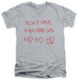 Die Hard - Machine Gun V-neck Shirt
