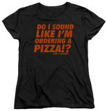 Womans: Die Hard - Pizza T-shirts