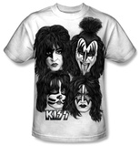 Youth: KISS - Heads Sub Shirts