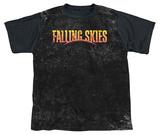 Youth: Falling Skies - Harness (black back) T-shirts
