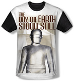 The Day The Earth Stood Still - Metal Sub (black back) T-Shirt