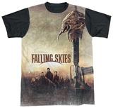 Falling Skies - Skitter Head (black back) T-Shirt