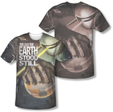 The Day The Earth Stood Still - Planet Earth (Front/Back Print) T-shirts