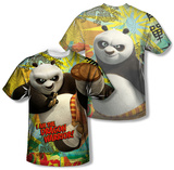 Kung Fu Panda - Dragon Warrior (Front/Back) Sublimated