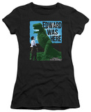 Juniors: Edward Scissorhands - Edward Was Here T-shirts