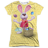 Juniors: Here Comes Peter Cottontail - Basket Of Eggs Shirt