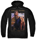 Hoodie: Grizzly Adams - Collage Pullover Hoodie