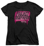 Womens: Fight Club - Project Mayhem Shirts
