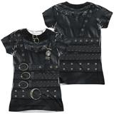 Juniors: Edward Scissorhands - Edward Costume (Front - Back Print) (Front/Back Print) Vêtements
