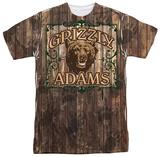 Grizzly Adams - Paw Prints T-Shirt