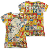 Juniors: Casper - Covered (Front/Back Print) Womens Sublimated
