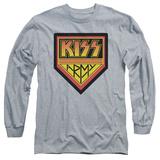 Longsleeve: KISS - Army Logo - T-shirt